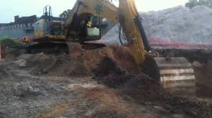 caterpillar 336e excavator benching down youtube