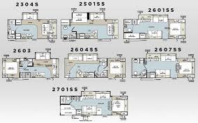 Puma Travel Trailers Floor Plans Flagstaff Super Lite Travel Trailers 27rlws Base Weight 6443 Lbs