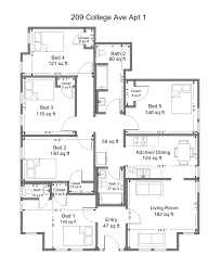 college floor plans 209 college ave floor plans beer properties ithaca nybeer