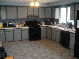 Kitchen White Cabinets Black Appliances Creative Of Modern Kitchen With Black Appliances Gray Kitchen