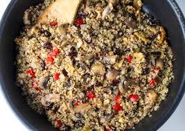 cranberry walnut quinoa tastefulventure