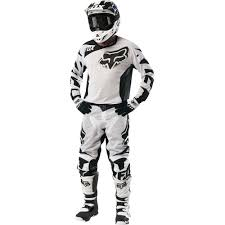 fox racing motocross gear fox racing 2016 180 race airline jersey and pant package white