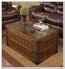 Vintage Trunk Coffee Table Storage Trunk Coffee Table Fleurdujourla Com Home Magazine And