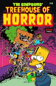 Simpsons Treehouse Of Horror 19 The Simpsons U0027 Treehouse Of Horror 18 Forbiddenplanet Com Uk