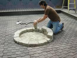 inground fire pit plans design ideas u2013 modern garden