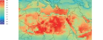 The Red Sea Map Daylight Mapping Planet Earth