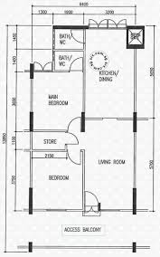 floor plans for 423 bedok north avenue 1 s 460423 hdb details