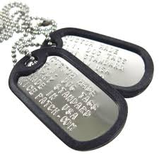 personalized dog tag necklace personalized custom dog tag 2 shiny necklace