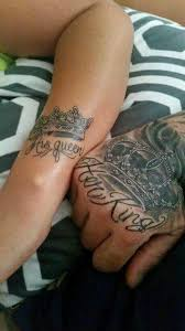 tattoo couple king and queen pin by tara santos on tattoos pinterest tattoo tattoo couples