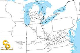Map Of Southwest Ohio The Chesapeake And Ohio Railway
