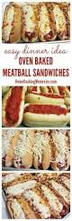 Great Ideas For Dinner Best 20 Meatball Sub Sandwiches Ideas On Pinterest Sunday Night