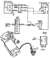 windshield wiper motor wiring diagram floralfrocks