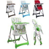 chaise haute pliante b b tex baby chaise haute bébé pliable avec tablette ajustable pas