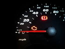 hyundai elantra check engine light a blinking engine light means now