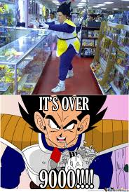 Over 9000 Meme - memecenter level over 9000 by 28 images ninja level over 9000 by