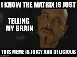 Matrix Meme Generator - cypher ignorance is bliss meme generator imgflip