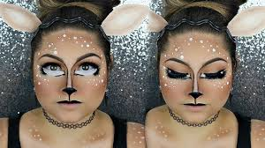 Awesome Halloween Makeup by Deer Fawn Cute Halloween Makeup Tutorial Beautybyjosiek Youtube