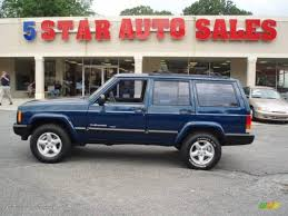 2000 patriot blue pearl jeep cherokee sport 13677841 gtcarlot