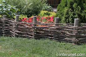 Decorative Fencing Old Style Decorative Wood Fence Interunet