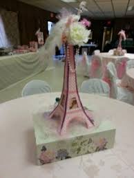 eiffel tower table centerpieces parisienne theme decor balloon decor theme baby dedication