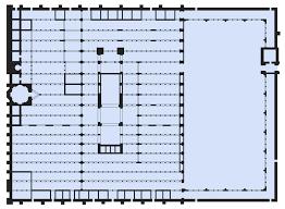 floor plan of mosque file floor plan of mosque of córdoba svg wikimedia commons