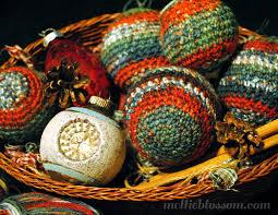 crochet christmas ornaments mellie blossom