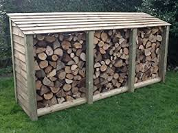 wood store large log store pressure treated log store