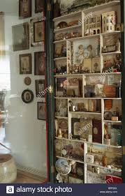 close up of collection of victorian memorabilia on small cube