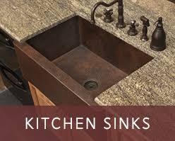 Copper Kitchen  Copper Farmhouse Sinks Copper Sinks Online - Cooper kitchen sink