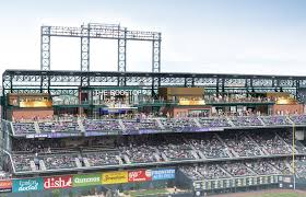 Coors Field Map Rockies To Build The Largest Rooftop Deck In All Of Sports Cbs