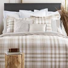 Eddie Bauer Rugged Plaid Comforter Set Tommy Hilfiger Range Plaid 100 Cotton 2 Piece Reversible