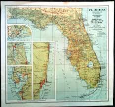 Florida Map Image by From The Map Vault U2013 National Geographic Society U0027s 1930 Map Of