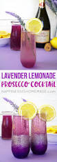 diy martini bar lavender lemonade prosecco cocktails diy ombre glitter champagne