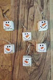 ornaments primitive snowman snowmen snow to make