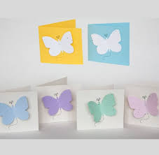 Memorial Service Favors Plantable Seed Memorial Card Butterfly Forget Me Not Seed