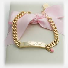 baby gold bracelet with name kaiu engravable baby jewellery children s jewellery