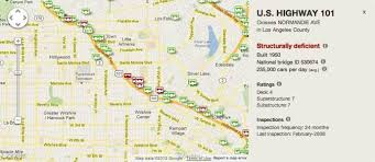 Greater Los Angeles Map by Here Are 12 Of Los Angeles U0027s Scariest Bridges Curbed La