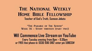 week 35 the parable of the sower part 2 youtube
