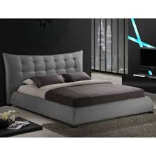 buy tufted headboard platform bed from bed bath u0026 beyond