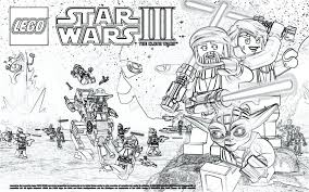 Clone Wars Coloring Pages Printable Star Wars Galactic Heroes Wars Clone Coloring Pages