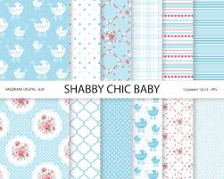 baby shabby chic digital paper pack baby digital papers baby