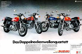 suzuki gs400 and gs400e magazine ads