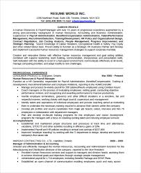 Operations Management Resume Sample Recruiting Manager Resume Template 6 Free Documents