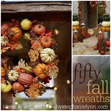 Halloween Wreath Ideas Front Door Fifty Fall Wreath Ideas U0026 Inspiration For The Entire Autumn Season