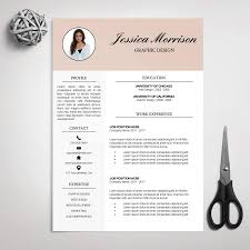 Job Resume Company by Resume Template Cv Template For Ms Word Cover Letter