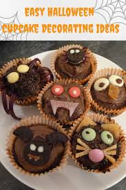 halloween cupcake ideas easy halloween cupcake decorating ideas halloween pinterest