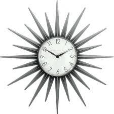 mid century wall clock ebay