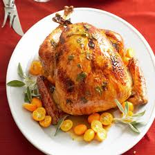 apple and glazed turkey recipe thanksgiving turkey