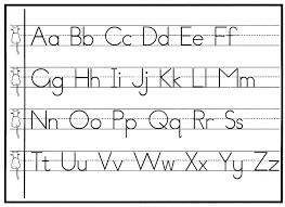 chart cursive letters chart
