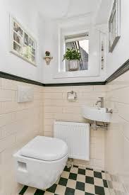 jaren30woningen nl toilet in jaren 30 stijl met geblokte vloer